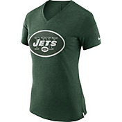 Nike Women's New York Jets Fan V Green T-Shirt