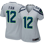 Nike Women's Alternate Game Jersey Seattle Seahawks Fan #12