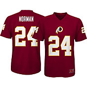 NFL Team Apparel Youth Washington Redskins Josh Norman #24 Performance Red T-Shirt