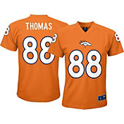 NFL Team Apparel Youth Denver Broncos Demaryius Thomas #88 Orange T-Shirt