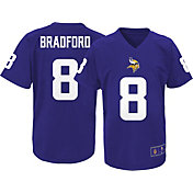 NFL Team Apparel Youth Minnesota Vikings Sam Bradford #9 Purple Performance T-Shirt