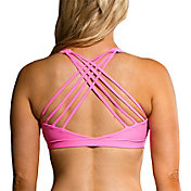 Onzie Women's Tropic Pink Chic Sports Bra