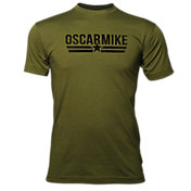 Oscar Mike Men's Logo T-Shirt