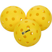 Onix Pure 2 Outdoor Pickleballs – 3 Pack