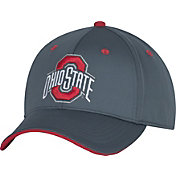 OSU Men's Ohio State Buckeyes Gray Revved Up Structured Flex Hat