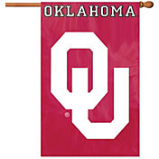Party Animal Oklahoma Sooners Applique Banner Flag