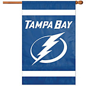 Party Animal Tampa Bay Lightning Applique Banner Flag