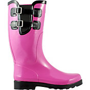 Puddletons Women's Classic Double Strap Rain Boots