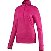 PUMA Women's Bloom Quarter-Zip Golf Popover