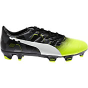 PUMA Kids' evoPOWER 3.3 Graphic FG Soccer Cleats