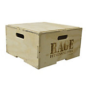 "RAGE 8"" Wood Stackable Plyo Box"