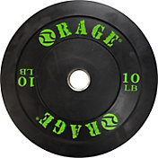 Rage 10 lb Olympic Pro Bumper Plate