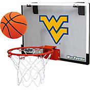 Rawlings West Virginia Mountaineers Game On Backboard Hoop Set