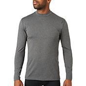 Reebok Men's Cold Weather Compression Mockneck Long Sleeve Shirt