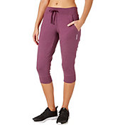 Reebok Women's Heather Jersey Jogger Capris