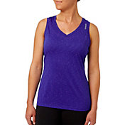 Reebok Women's Plus Size Blip Melange Tank Top