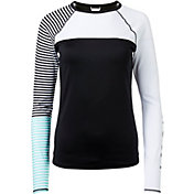 Roxy Women's Stripe Long Sleeve Rash Guard