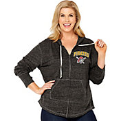 Soft As A Grape Women's Pittsburgh Pirates Black Hoodie