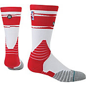 Stance Houston Rockets On Court Core Crew Socks