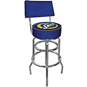 Trademark Games Utah Jazz Padded Swivel Bar Stool with Back