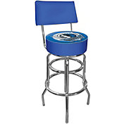 Trademark Games Dallas Mavericks Padded Swivel Bar Stool with Back