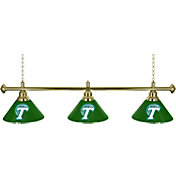 Trademark Games Tulane Green Wave 60'' 3-Shade Billiard Lamp