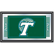 Trademark Games Tulane Green Wave Framed Team Logo Mirror