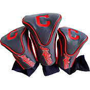 Team Golf Cleveland Indians Contoured Headcovers - 3-Pack