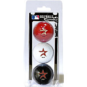 Team Golf Houston Astros Golf Balls - 3-Pack