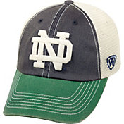 Top of the World Men's Notre Dame Fighting Irish Navy/White/Green Off Road Adjustable Hat