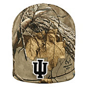 Top of the World Men's Indiana Hoosiers Camo Trap Knit Beanie