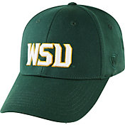 Top of the World Men's Wright State Raiders Green Premium Collection M-Fit Hat