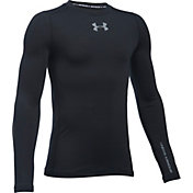 Under Armour Boys' ColdGear Armour Crew Neck Long Sleeve Shirt