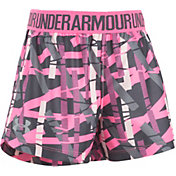 Under Armour Little Girls' Shifting Ladders Play Up Shorts