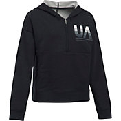 Under Armour Girls' French Terry Studio Hoodie