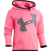 Under Armour Little Girls' Jumbo Chaingrid Big Logo Hoodie