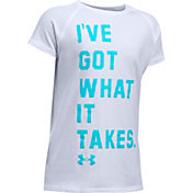Under Armour Girls' Got What It Takes T-Shirt