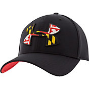 Under Armour Men's Maryland Flag Big Logo Low Crown Hat