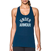Under Armour Women's Threadborne Wordmark Tank Top