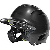 Under Armour Junior Solid Molded Batting Helmet w/ Wrapped Earpieces