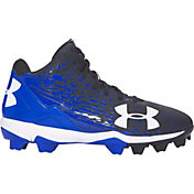Under Armour Kids' Leadoff RM Mid Baseball Cleats