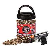 Ultrasonic Camo Airsoft BBs with Colt 25 Airsoft Pistol - 10,000 Count