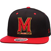 Zephyr Men's Maryland Terrapins Black/Red Z11 Snapback Hat