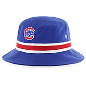 '47 Men's Chicago Cubs Striped Bucket Hat