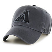 '47 Men's Arizona Diamondbacks Clean Up Grey Adjustable Hat