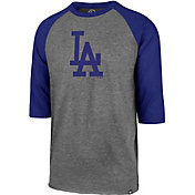 '47 Men's Los Angeles Dodgers Club Three-Quarter Sleeve Shirt