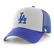 '47 Men's Los Angeles Dodgers Ravine Closer Grey/Royal Fitted Hat