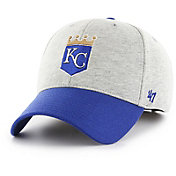 '47 Men's Kansas City Royals Retent MVP Grey Adjustable Hat