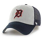 '47 Men's Detroit Tigers Ravine Closer Grey/Navy Fitted Hat