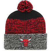 '47 Men's Chicago Bulls Static Black Knit Hat